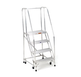 FEATURED-ALUMINUM ROLLING LADDER