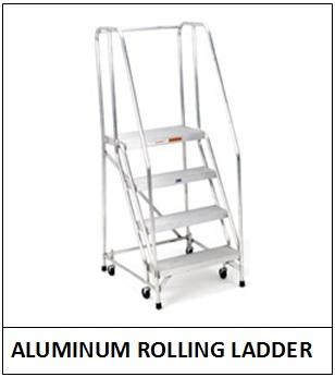 Aluminum Rolling Ladder