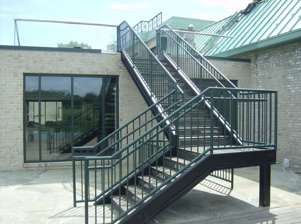 Industrial Stairways Steel Staircase Osha Stairways