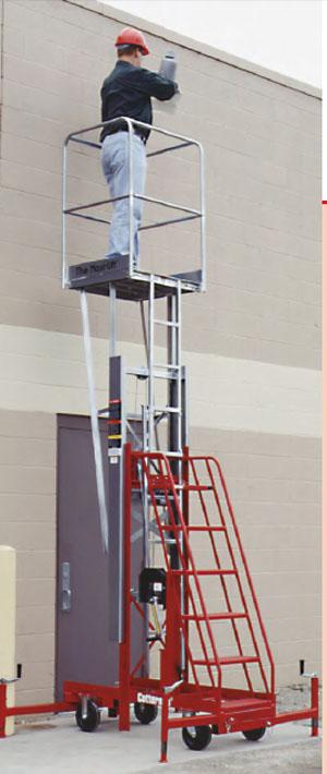 Elevating Work Platform Man Lifts Industrial Man Lift