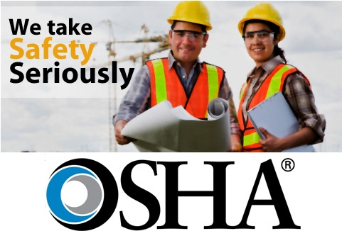 Our Products Meet OSHA and ANSI Standards
