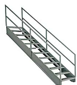Delicieux Industrial Stairways | Steel Staircase | Osha Stairways | U.S. Industrial  Supply, Inc.