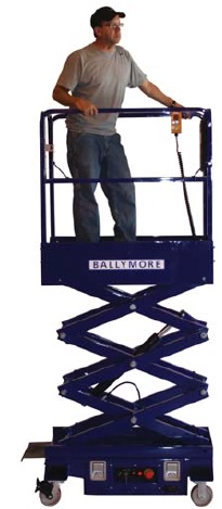 Mini Scissor Lift Man Lifts Elevating Platform Us Industrial