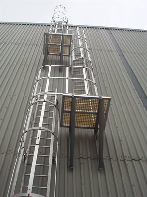 Roof Ladders An Access Solution For All Building Codes